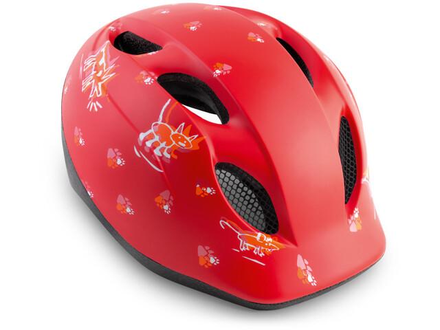 MET Superbuddy Cykelhjelm Børn rød (2019) | Helmets